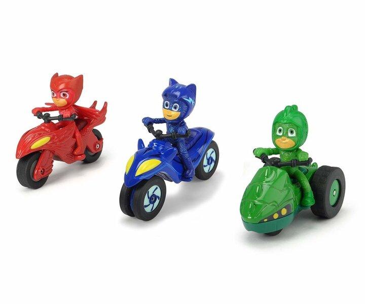 Набор фигурок и мотоциклов Pj Masks Пижамных героев (Pj Masks)
