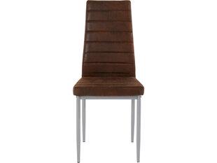 2-tooli komplekt Kate, pruun hind ja info | Söögitoolid, köögitoolid | kaup24.ee