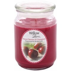 Candle-lite lõhnaküünal Willow Lane Sweet Cherries & Cinnamon