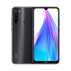 Xiaomi Redmi Note 8T 64GB, Dual-SIM, Must (Moonshadow Gray) hind ja info | Xiaomi Redmi Note 8T 64GB, Dual-SIM, Must (Moonshadow Gray) | kaup24.ee