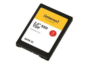 Intenso SSD 2.5 Top 1TB hind ja info | Intenso SSD 2.5 Top 1TB | kaup24.ee