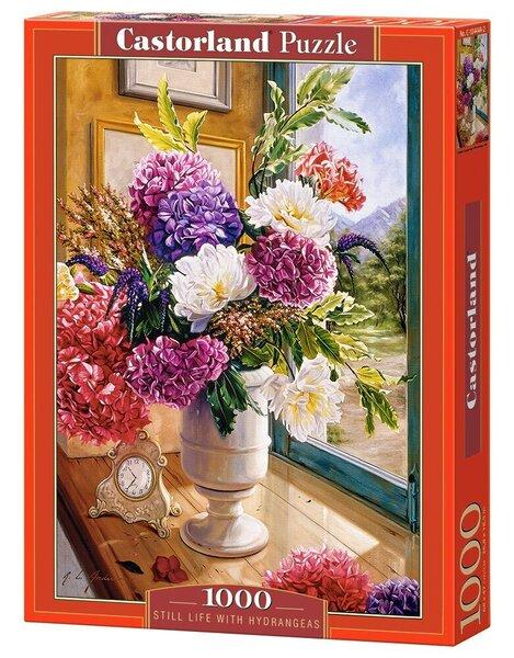 Pusle Castorland Still Life with Hydrangeas, 1000-osaline цена