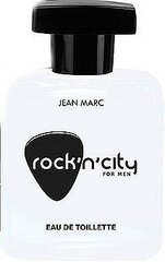 Tualettvesi Jean Marc Rock'n City For Men EDT meestele 100 ml