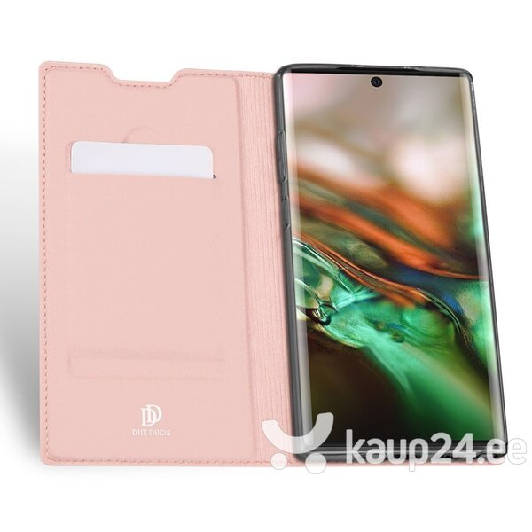 Telefonikaaned DUX DUCIS Skin Pro Samsung Galaxy Note 10 Plus, Roosa Internetist