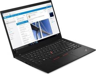 Lenovo ThinkPad X1 Carbon 7 (20QD00L2PB) hind ja info | Sülearvutid | kaup24.ee
