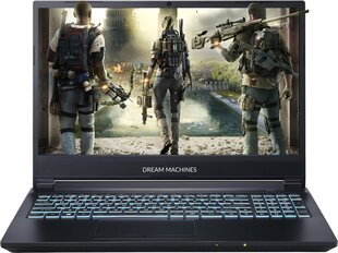 Dream Machines G1660Ti-15PL40 8 GB RAM/ 480 GB SSD/ Windows 10 Home hind ja info | Sülearvutid | kaup24.ee