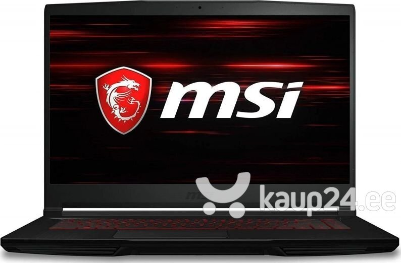 MSI GF63 Thin 9RCX-674XPL 8 GB RAM/ 512 GB M.2 PCIe/ 1TB HDD/ Windows 10 Pro hind