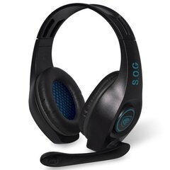 Peakomplekt Spirit Of Gamer Multi Platform Series Over Ear Headset Elite-H5, Sinine
