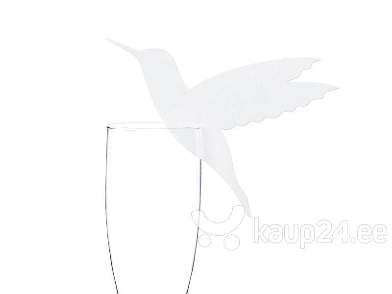 Nimekaart Humming-bird 12.5x10 cm (1 pakk / 10 tk)