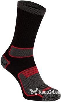 Meeste spordisokid Avento, 2 tk, black/red