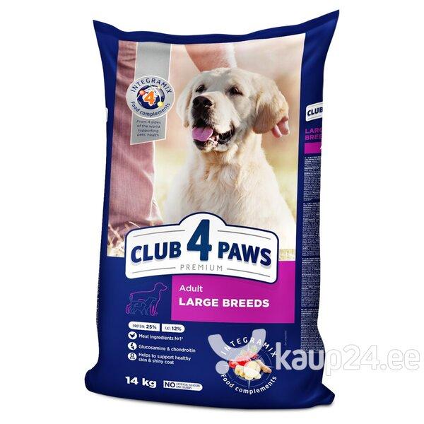 Club 4 Paws Premium kuivtoit suurt kasvu koertele