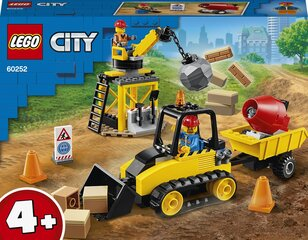 60252 LEGO® City Great Vehicles Ehitusbuldooser hind ja info | 60252 LEGO® City Great Vehicles Ehitusbuldooser | kaup24.ee