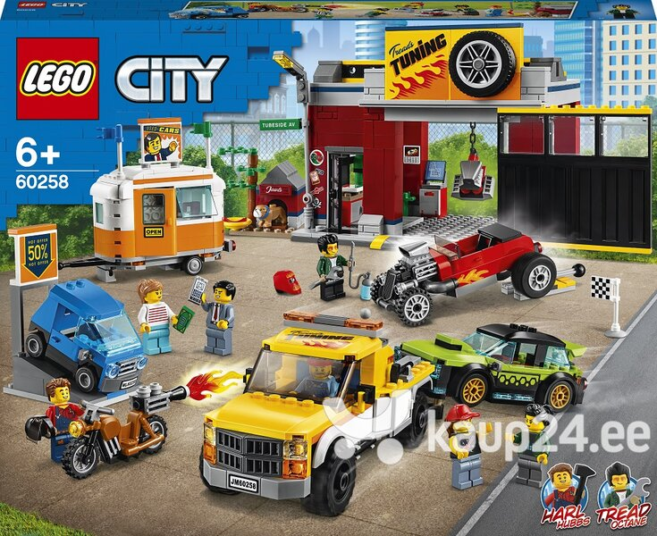 60258 LEGO® City Nitro Wheels Töökoda
