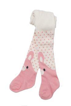 BUBBLE valged beebide roosad sukkpüksid