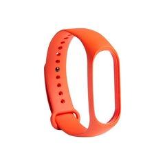 Xiaomi Mi Band 3/4 rihm, Oranž hind ja info | Nutikellade ja nutivõrude tarvikud | kaup24.ee