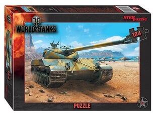 "Pusle Step Puzzle 104 ""World of Tanks"""