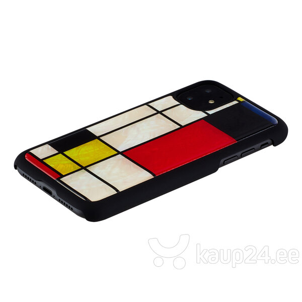 iKins ümbris Apple iPhone 11, Mondrian, Must Internetist