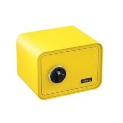 Sõrmejäljelugejaga seif Basi mySafe 350, kollane hind ja info | Seifid | kaup24.ee