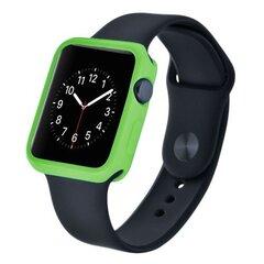 Kaitseümbris Devia Colorful sobib Apple watch (38mm), Roheline hind ja info | Nutikellade ja nutivõrude tarvikud | kaup24.ee