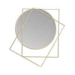 Dekoratiivne peegel NABESNA, kuldne hind ja info | Peeglid | kaup24.ee
