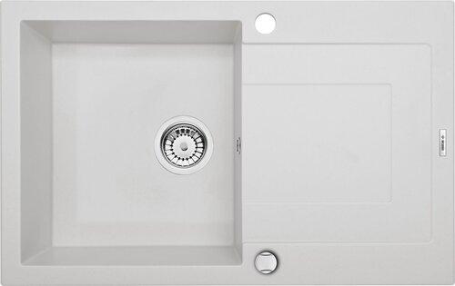 Deante graniidist köögivalamu Deante Rapido ZQK A113, Alabaster hind ja info | Köögivalamud | kaup24.ee