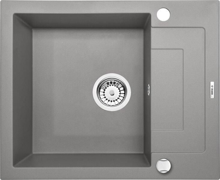 Graniidist köögivalamu Deante Rapido ZQK S11A, Metallic grey