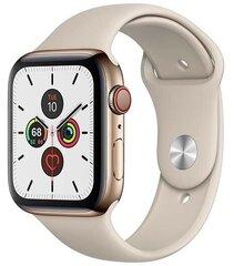 Apple Watch s5 44 mm + Cellular, Kuldne