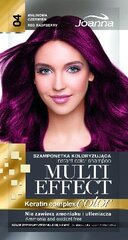 Tooniv šampoon Joanna Multi Effect 35 g, 04 Raspberry Red