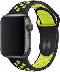 Devia Deluxe Series Sport2 Band sobib Apple Watch(40mm), kollane