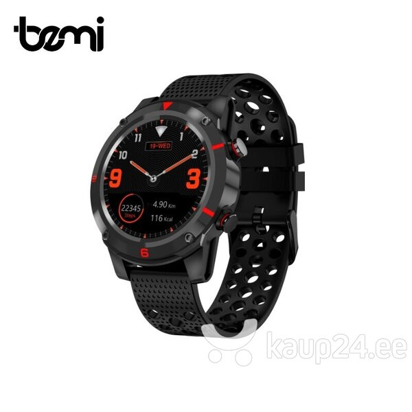 Nutikell Bemi SCOUT Smart Watch & Fit GPS Tracker, Must tagasiside