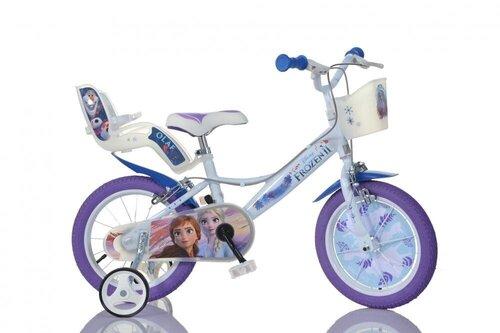 """Tüdrukute jalgratas Dino Bikes Lumekuninganna (Frozen) 16"""", 164R-FZ3"""