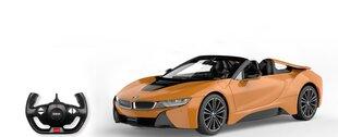 Puldiga juhitav mudelauto Rastar 1:12 BMW i8 Roadster, 95500 hind ja info | Poiste mänguasjad | kaup24.ee