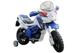 Laste elektriline mootorratas Motor Cross, sinine hind ja info | Elektrilised autod | kaup24.ee