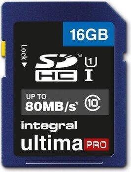 Integral UltimaPro 16 GB SDHC 80MB CLASS 10 UHS-I U1 hind ja info   Fotoaparaatide mälukaardid   kaup24.ee