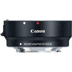 Canon Mount Adapter EF-EOS M (EF/EF-S to EOS M) hind ja info | Filtrid fotoaparaatidele | kaup24.ee