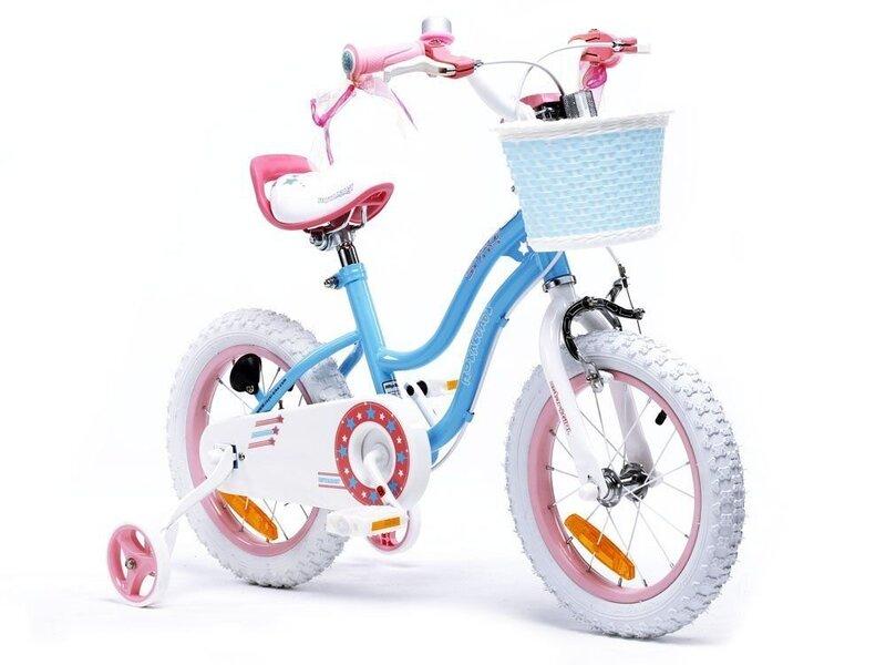 "Jalgratas ROYALBABY Star Girl 14"" Sinine"