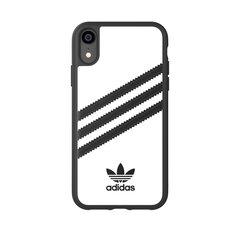 Adidas Originals Case PU for iPhone XR white/black hind ja info | Adidas Mobiiltelefonid, foto-, videokaamerad | kaup24.ee