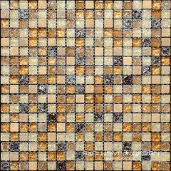 30*30 A-MMX08-XX-010 8 мм, мозаика из стекла и камня цена и информация | Плитка для стен | kaup24.ee