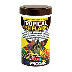 Helbed troopilistele kaladele Prodac Tropical Fish Flakes 1200ml 200g цена и информация | Helbed troopilistele kaladele Prodac Tropical Fish Flakes 1200ml 200g | kaup24.ee