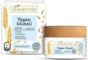 Niisutav näokreem Bielenda Vegan Muesli 50 ml hind ja info | Näokreemid | kaup24.ee