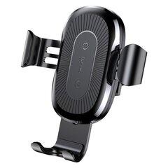 Juhtmevaba autolaadija Baseus WXYL-01 wireless Must hind ja info | Mobiiltelefonide hoidjad | kaup24.ee