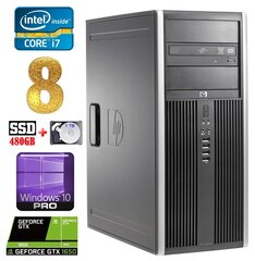 HP 8100 Elite MT i7-860 8GB 480SSD+1TB GTX1650 4GB DVD WIN10Pro hind ja info | HP 8100 Elite MT i7-860 8GB 480SSD+1TB GTX1650 4GB DVD WIN10Pro | kaup24.ee