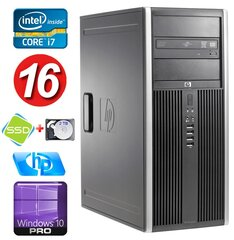 HP 8100 Elite MT i7-860 16GB 120SSD+2TB NVS450 DVD WIN10Pro hind ja info | HP 8100 Elite MT i7-860 16GB 120SSD+2TB NVS450 DVD WIN10Pro | kaup24.ee