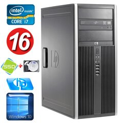 HP 8100 Elite MT i7-860 16GB 120SSD+1TB NVS450 DVD WIN10 hind ja info | HP 8100 Elite MT i7-860 16GB 120SSD+1TB NVS450 DVD WIN10 | kaup24.ee