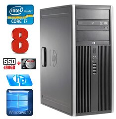 HP 8100 Elite MT i7-860 8GB 480SSD+500GB NVS450 DVD WIN10 hind ja info | HP 8100 Elite MT i7-860 8GB 480SSD+500GB NVS450 DVD WIN10 | kaup24.ee