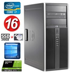 HP 8100 Elite MT i7-860 16GB 240SSD+1TB GTX1650 4GB DVD WIN10 hind ja info | HP 8100 Elite MT i7-860 16GB 240SSD+1TB GTX1650 4GB DVD WIN10 | kaup24.ee