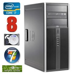 HP 8100 Elite MT i7-860 8GB 1TB GT1030 2GB DVD WIN7Pro hind ja info | HP 8100 Elite MT i7-860 8GB 1TB GT1030 2GB DVD WIN7Pro | kaup24.ee