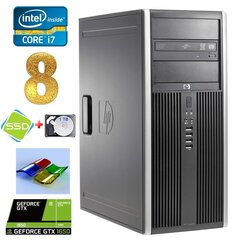 HP 8100 Elite MT i7-860 8GB 120SSD+1TB GTX1650 4GB DVD WIN7Pro hind ja info | HP 8100 Elite MT i7-860 8GB 120SSD+1TB GTX1650 4GB DVD WIN7Pro | kaup24.ee