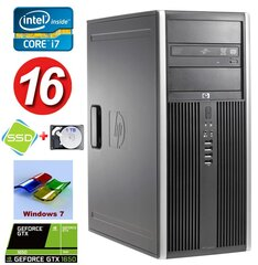 HP 8100 Elite MT i7-860 16GB 120SSD+1TB GTX1650 4GB DVD WIN7Pro hind ja info | HP 8100 Elite MT i7-860 16GB 120SSD+1TB GTX1650 4GB DVD WIN7Pro | kaup24.ee