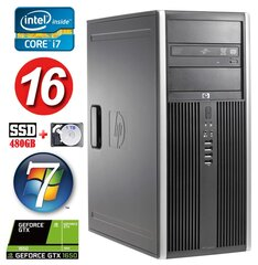 HP 8100 Elite MT i7-860 16GB 480SSD+1TB GTX1650 4GB DVD WIN7Pro hind ja info | HP 8100 Elite MT i7-860 16GB 480SSD+1TB GTX1650 4GB DVD WIN7Pro | kaup24.ee